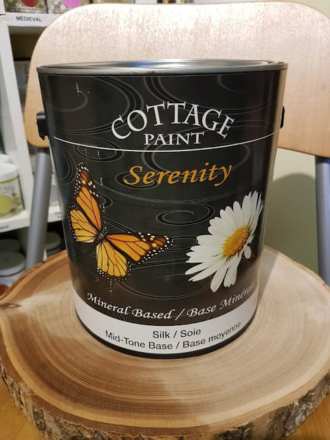 cottage paint at the Camellia Thunder Bay