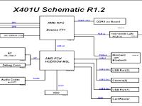 Acuan  Untuk Perbaikan Laptop Asus X401U