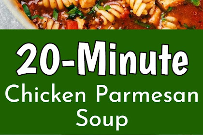 20-Minute Chicken Parmesan Soup