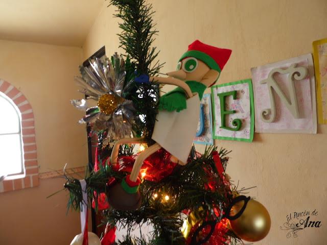 Dobby navideño - decoración para el árbol de navidad