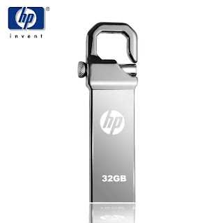 32 Gb Hp Usb Flash Pen Drive-Silver Fleetworkers