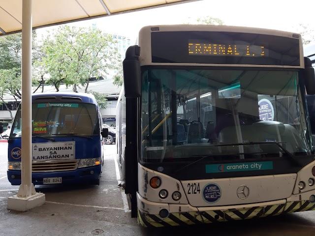 P2P Araneta Center to NAIA Schedule