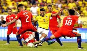 مشاهدة مباراة تشيلي وكولومبيا
