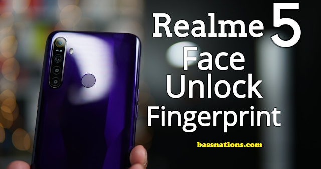 realme fingerprint face unlock