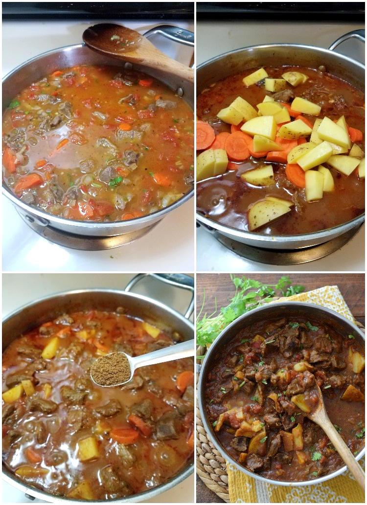 Cómo hacer carne guisada con salsa de tomate