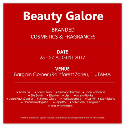 Luxasia Beauty Galore Branded Cosmetics & Fragrances Sale