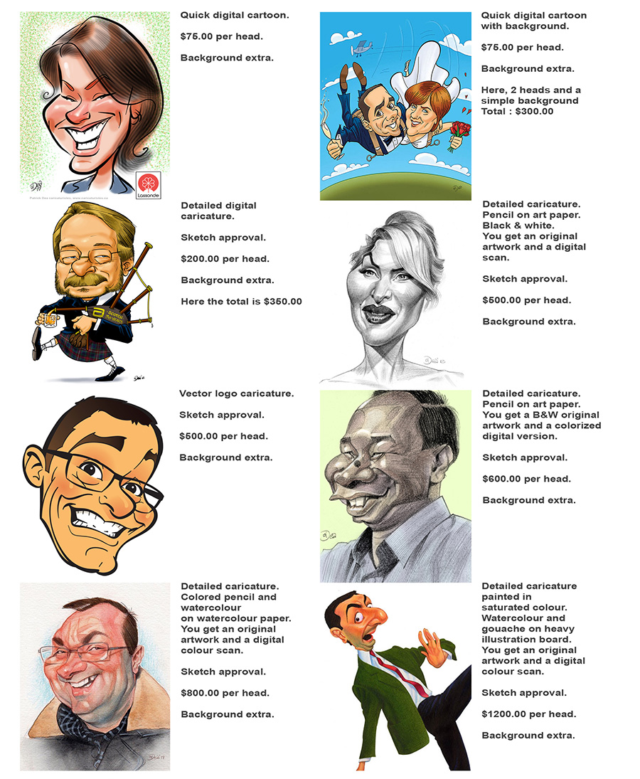 caricature, caricaturist, gift, animation