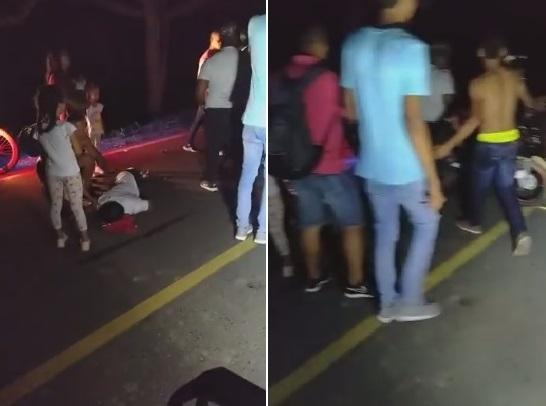 Un muerto y un herido deja accidente en la vía Juan de Acosta-Santa Verónica