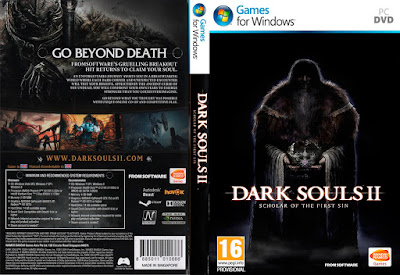 Jogo Dark Souls II - Scholar of The First Sin PC DVD Capa