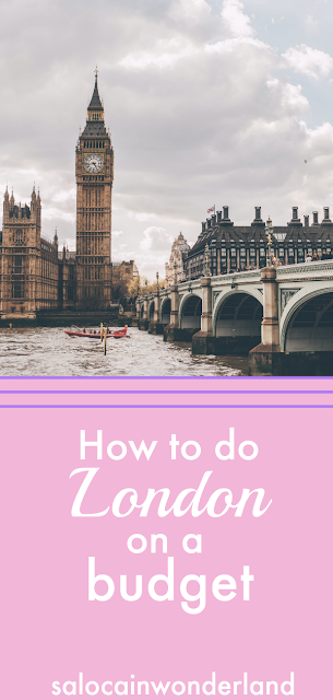 how to travel to and explore London on a small budget #traveltips #londontravel #moneysaving