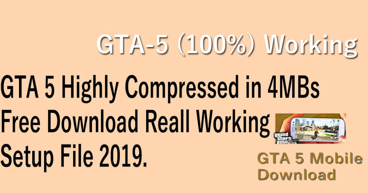 how to install gta 5 highly compressed for pc