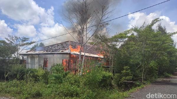 5 Rumah Dinas Pemda Yalimo Papua Dibakar, Pelaku Ditangkap