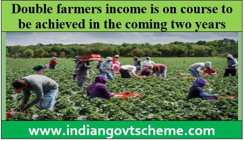 Double farmers income