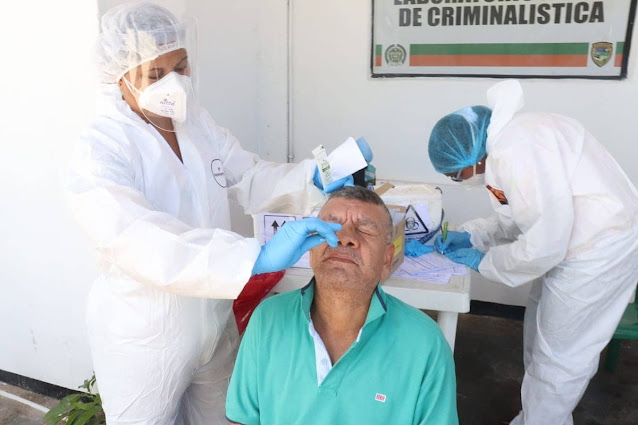 hoyennoticia.com, Alcaldía de Riohacha realizó rastreo para detectar casos de Covid-19