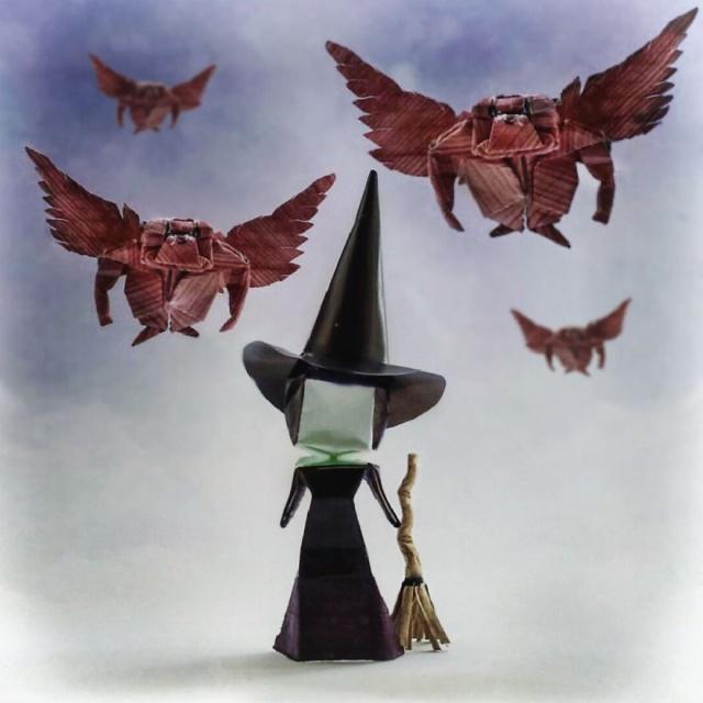 Seni Origami kertas Dari Filem - Filem Terkenal
