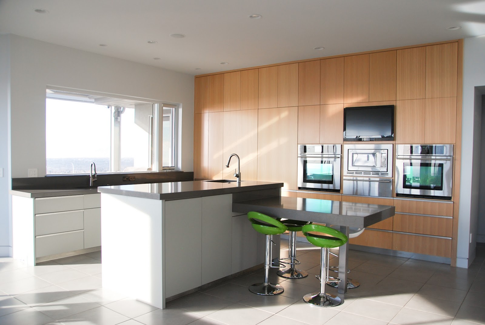 the granite gurus contemporary caesarstone kitchen from mgs by design