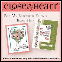 For My Beautiful Friend Blog Hop Badge