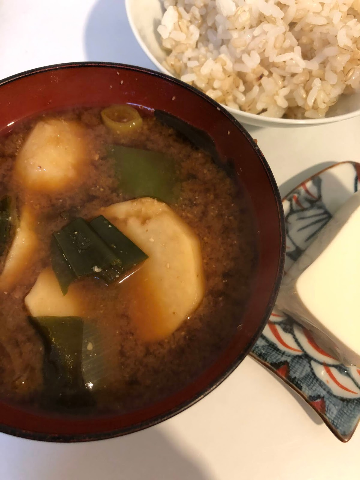 girl from north london, japanese food, miso soup, blogger