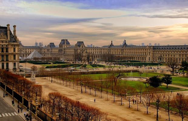 Louvre in Winter