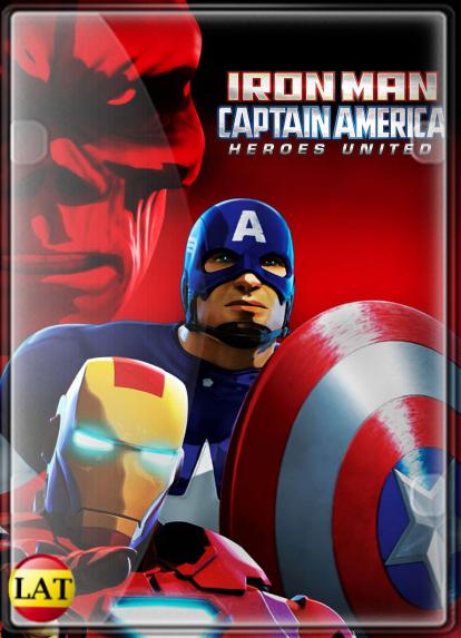 Iron Man y Capitan America los Heroes Unidos (2014) HD 1080P LATINO
