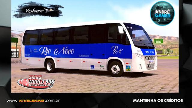 VOLARE W9 FLY - VIAÇÃO RIO NOVO TURISMO