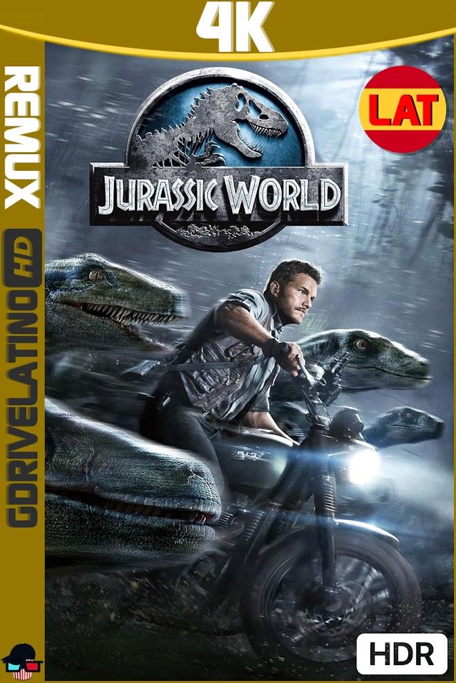 Jurassic World (2015) BDRemux 4K HDR Latino-Ingles MKV