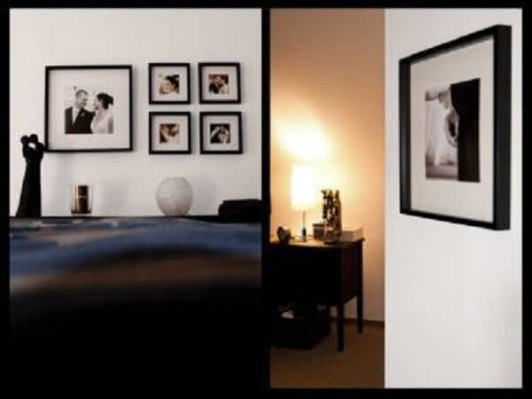Photo frame for the double bedroom