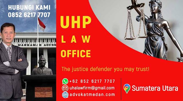 Nama nama pengacara di Medan Kota Medan