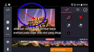 Cara menandai text atau objek dengan kotak dalam video android