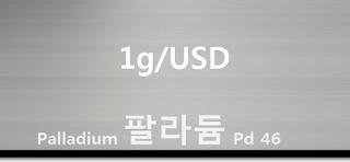 오늘 팔라듐 1 그람(g) 시세 : 99.95 팔라듐 1 그람 (1g) 시세 실시간 그래프 (1g/USD 미국 달러)