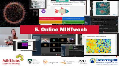 5. Online Mintwoch- einfach von zu Hause oder der Schule mitexperimentieren!