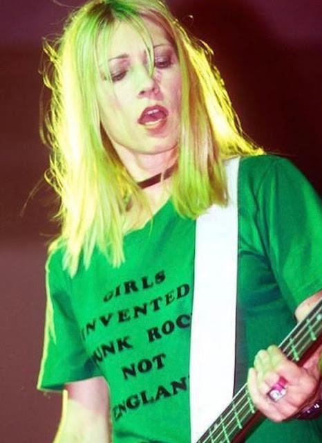 Girls Invented Punk Rock shirt worn by Kim Gordon.  PYGear.com