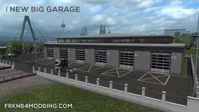 Modern Garage Mod v 1.4 - by Frkn64