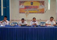 Jajaran Pemprov Sosialisasi Visi dan Misi Gubernur NTB di Kota Bima