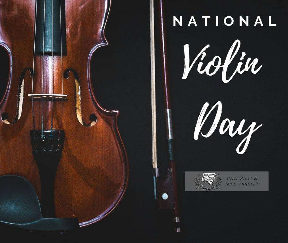 National Violin Day Wishes Unique Image