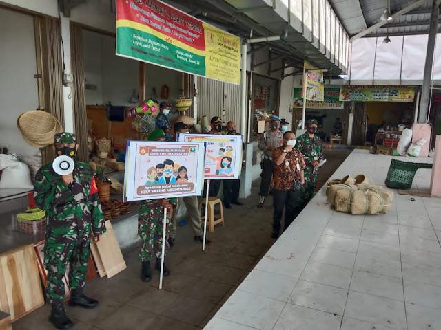 Jaga Kantibmas TNI-Polri bersama Satpol PP Gelar Patroli Gabungan Di Wilayah Kecamatan Tasikmadu