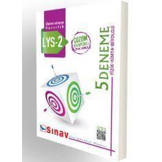 Sınav LYS 2 Fizik Kimya Biyoloji 5 Çözümlü Deneme