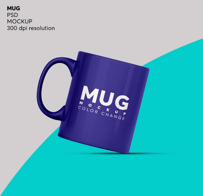 Coffee Mug Tea Cup Mockup Isolated