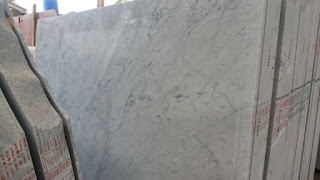 Type Marmer Putih Terbaru Carrara White Slabs
