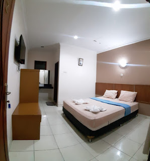 kamar tidur hotel
