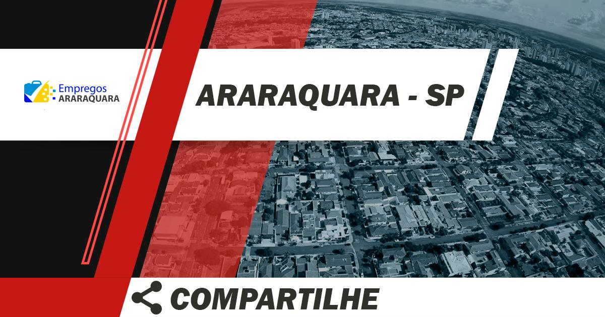 Vendedor / Araraquara / Cód.5593