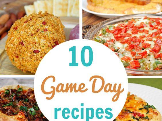 10 Game Day Grub Ideas!