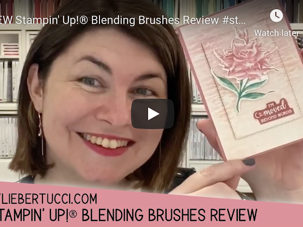 VIDEO: Review of the new Stampin' Up!® Blending Brushes
