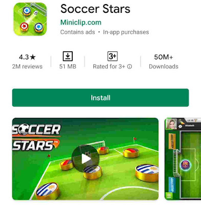 5. Soccer Stars