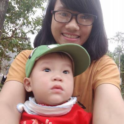 Hạnh phúc bên con của Trương Thu Hương