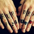 Cartoon Finger Tattoos ~ Finger Family Toys