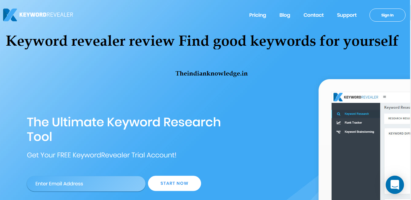 Keyword revealer review Find good keywords for yourself