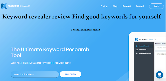 Keyword revealer review   |  Find good keywords for yourself