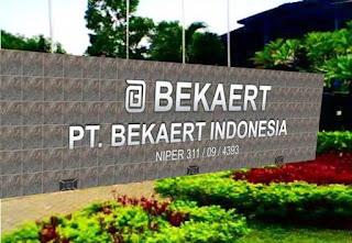 Loker BKK SMK Dinamika Pembangunan Terbaru 2017 PT. Bekaert Indonesia Karawang