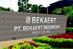 Loker SMK Terbaru 2019 PT. Bekaert Indonesia Karawang